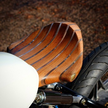 Wood Solo Seat