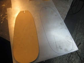 Seat Pan Mock Up