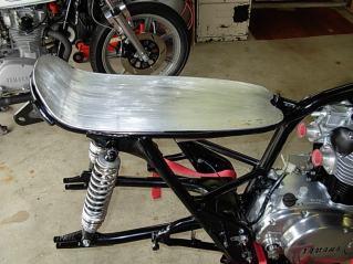 Seat Pan Mock Up