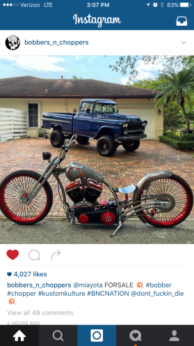 Drop seat Harley