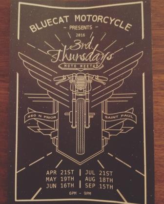 Local Bike Meet 3rd Thursdays